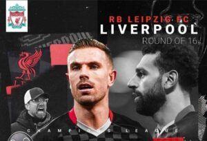 فرم پیش بینی دیدار لیورپول و لایپزیش لیگ قهرمانان اروپا