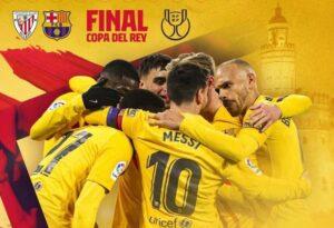 فرم پیش بینی دیدار بارسلونا و اتلتیک بیلبائو فینال کوپا دل ری