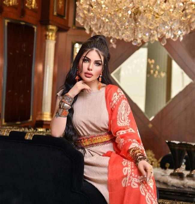 بیوگرافی جیهان هاشم زیباترین مدلینگ عراقی و محبوب (+عکس)