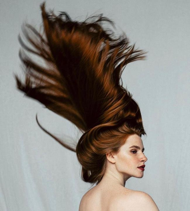 آناستازیا سیدورووا دختری با جذاب ترین موهای دنیا (+عکس داغ)