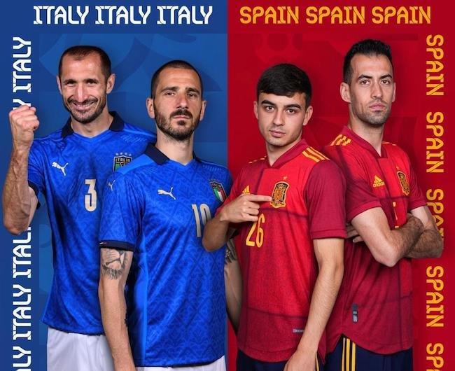 فرم پیش بینی دیدار ایتالیا و اسپانیا نیمه نهایی جام ملت های اروپا یورو