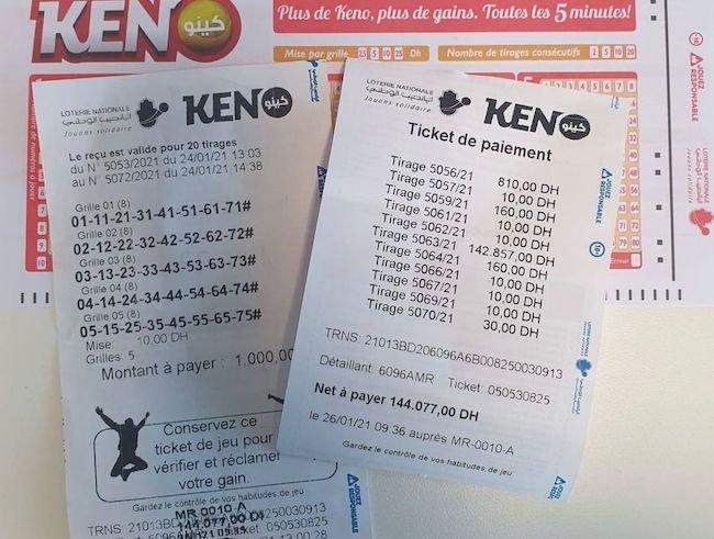 نحوه بخت آزمایی کنو keno و بازی که میتواند برای همیشه شما را میلیاردر کند !!