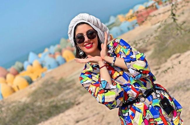 بیوگرافی شاداب فراهانی اولین رقصنده با حجاب ایرانی در اینستاگرام (+عکس)